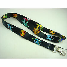 Pokemon Pikachu Eevee ID card holder, Key Neck Strap Lanyard, Phone Neck Strap
