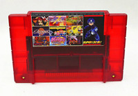 Super 130 in 1 Game 16 Bit for Nintendo SNES Multi Cart Game Cartridge NTSC US/V