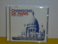 CD - CHANSONS DE PARIS - PARIS D'AMOUR