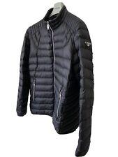 Prada Men's Black Coat Jacket Size 56