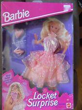 1993 Barbie Locket Surprise Peach Dress Outfit Fashion #11559 NEW MIP Gorgeous