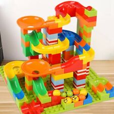 165Pc/Set DIY Construction Crazy Marble Race Run Maze Track Building Blocks Toy