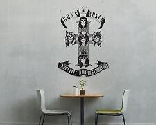 Guns n Roses Axel Slash Album Wall Art Rock Free Squeegee! Large Decal Sticker