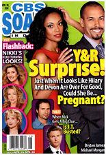 CBS Soaps In Depth Magazine - April 30, 2018 - Bryton James & Mishael Morgan