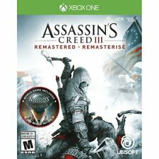 New Assassin's Creed III 3 Remastered (Xbox One) Includes Liberation Game
