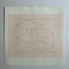 """Josef Albers litho """"Structural Constellation"""" Ives-Sillman unpublished NOS"""