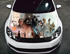 Full Color Sticker Star Wars Car Hood Vinyl, Car Graphics Decal Wrap PN6