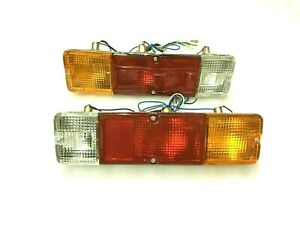 Rear Brake Lamp Tail Light Pair Suzuki Samurai Sierra SJ413 SJ410 Gypsy
