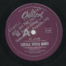 "LITTLE RIVER BAND   Rare 1982 Australian Promo Only 7"" OOP Single ""St. Louis"""