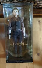The Twilight Saga Emmett Doll Barbie Collector Pink Label By Mattel 2012 NEW!