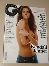 KENDALL JENNER=SKY FERREIRA=LEVANTE=JIMMY PAGE=PAOLO CONTE=MAGAZINE GQ 2015
