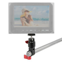 """CAMVATE 15mm Rod Clamp 1/4""""-20 Thread Ball Head Mount Rig for Camera Monitor LCD"""