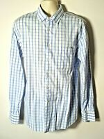 Musto Red Yacht Blue & White Check Shirt size XL