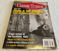 Classic Trains 2011 Fall Ride a UP freight Southern 1926 wreck (Lot 201M)