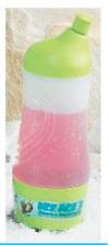 Tupperware Ice Age Dinosaurs Sports Water Bottle & Storage Base Green 14 oz New