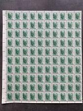 USA Briefmarken Bogen 100x 1 Cent 1963 Andrew Jackson #26300-S