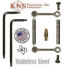 KNS Pins Anti-Walk Pins Non-Rotating NRTHP Mod 2 Stainless Side Plates .154 Pin
