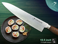 """Classic Japanese Vg10 Steel Chef's knife 10.5"""" Gyuto Slicer Flatware Cutlery"""