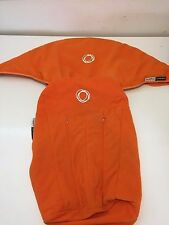 Bugaboo Cameleon Canopy  Seat Cover Orange Fleece Fabric Fit Frog sunshade hood