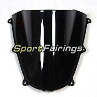 Windproof Bike Deflector For 2005 2006 Honda CBR600RR F5 ABS Windshields Black