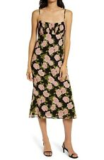 NWT Reformation Arie Floral Print Midi Dress, Rosalia Size 2, 8, 10 $198