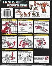 Transformers Original G1 Strafe Instruction Manual