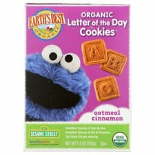 Organic Letter of the Day Cookies Oatmeal Cinnamon 5.3