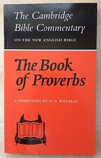Cambridge Bible Commentary on the New English Bible: The Book of Proverbs