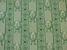 Lee Jofa LAURIER TOILE Wallpaper GREEN Home Decor Paper Craft Projects BTY