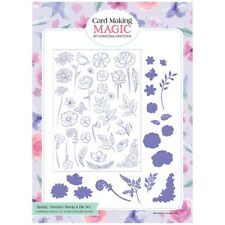 Card Making Magic Die & Stamp Set Spring & Summer Set of 49 Christina Griffiths