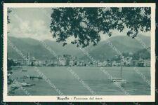 Genova Rapallo Mare Barche cartolina RT0500