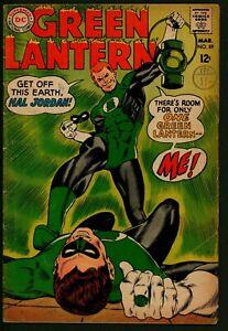 Green Lantern #59 DC Comics VG Plus First appearance Guy Gardner