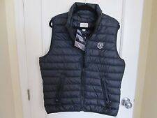 NWT Abercrombie and Fitch Men's Climafill Vest Puffer Navy Sz L A&F Premium