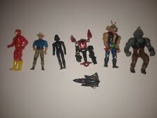Vintage action figure lot Star wars, tmnt, transformers, Jurassic Park, and more