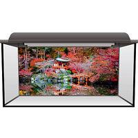 Aquarium Fish Tank Background Static Cling - Daigoji Temple Fluval Juwel #0007
