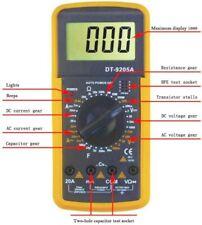 Multímetro digital DT-9205A MEDIDOR TENSION