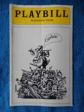 Candide - Broadway Theatre Playbill - April 1975 - Charles Kimbrough