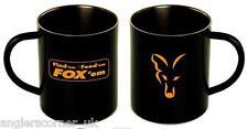 Fox Royal inoxydable noir Tasse XL 400ml / ACCESSOIRES / pêche / clu254