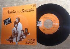 SP 45 tours BOF Nicolas et Alexandra Henry Mancini Janet Suzman 1971 EXC+