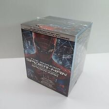 THE AMAZING SPIDER-MAN BLU-RAY + 3D *4-DISC LIMITED EDITION GIFTSET* NEW (T48)