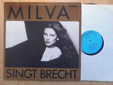 MILVA DDR ETERNA LP: SINGT BRECHT (827385)