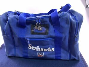 Vintage 90s Seattle Seahawks Starter Gym Duffle Bag Tote Travel Carry On Workout
