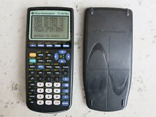 Ti-83 Plus Graphing Calculator with Cover, Used