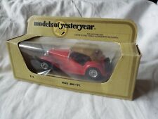 MATCHBOX MODELS OF YESTERYEAR Y-8 1945 MG-TC RED