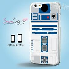iPhone X 8 7 SE 6 6S Plus 5 5S 5C 4 4S Case Cover Star Wars R2D2M27