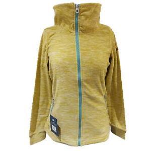 Regatta Womens Ezri Fleece Jacket Full Zip Long Sleeved Marl Ladies Coat Outdoor