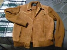 """Cambridge """"dude"""" sweater/jacket, Size XL, ribbed cowhide!! Comfortable!!"""