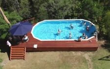 SWIMMING POOL PACKAGE ABOVE GROUND AUST MADE 9.2mx3.0m SALTWATER FAMILY OWNED