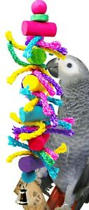 1413 Preeny Pole Bird Toy parrot cage toys cages natural cockatiel conure amazon