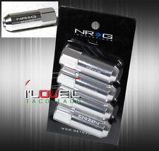 NRG LN-400SL M12X1.5MM 4PC LIGHT WEIGHT JDM VIP LUXURY FLASH TUNER OPEN LUG NUTS